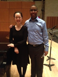 Sisi and I after Feb 11 DMA recital